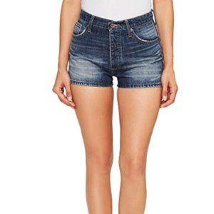 Lucky Brand A-Line Vintage Becky Denim Shorts 27